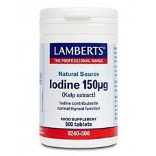 Iodine 150µg (Kelp extract)