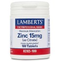 Zinc 15mg (as Citrate)