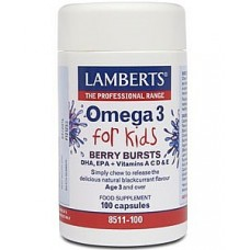 Berry Burst - Omega 3 for Kids