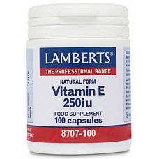 Vitamin E 250iu (Natural Form)
