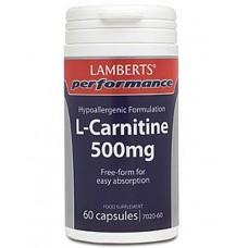 L-Carnitine 500mg Capsules