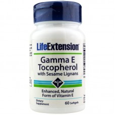 Gamma E Tocopherol with Sesame Lignans