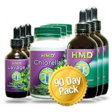 HMD 90 DAY ULTIMATE DETOX PACK (3 of each)